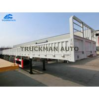 China Leaf Spring Suspension Side Wall Truck Semi Trailer With Fuwa/Bpw Brand Axles on sale