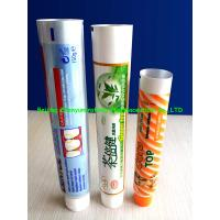 China Flexible ABL Toothpast Tubes on sale