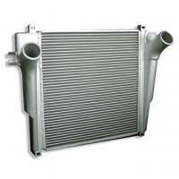 China Vehicle Plate and Bar Heat Exchanger , Racing Car Front Mount Universal Intercooler on sale