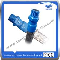 Buy cheap BSP Standard Male Thread of Stainless steel Hose, Metal Corrugated pipe,Metal Braided hose product