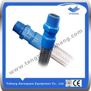 Buy cheap Le fil masculin standard de BSP du tuyau d'acier inoxydable, Metal le tuyau ondulé, tuyau tressé par métal product