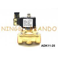 Buy cheap ADK11-25A / 25G / 25N CKD Type 2 Port Pilot Kick Solenoid Diaphragm Valve G1'' Inch NC Type product