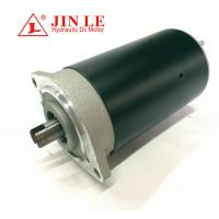 Buy cheap 80mm OD Direct Drive Motor Electrical Hydraulic Black 800w 24 Volt 3650 RPM product