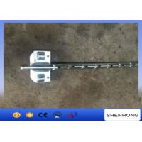 China Balancing Type Cable Pulling Head Boards For Three Bundle Conductors 100KN - 180KN wholesale