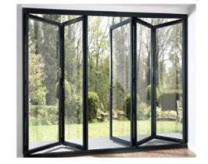 Buy cheap Residential aluminium white bifold doors Low E Glazed Soundproof product