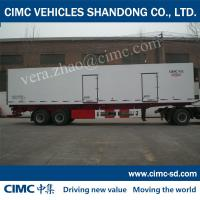 China 30 ton box trucks for sale 14065*2545*2570 catering vans Refrigerated Semi-trailers on sale