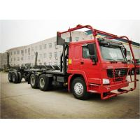 Buy cheap HOWO 6*6 Truck Heavy Duty Semi Trailers for Log Carrier Truck Log Transport from wholesalers
