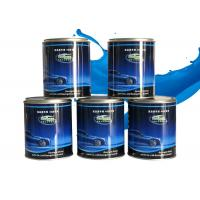 China Bright Blue Pearlescent Car Paint , High Color Saturation Clear Acrylic Lacquer on sale