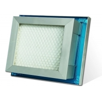 Buy cheap Gel Seal Mini Pleated Air Purifier HEPA Air Filter For Pharmaceutical Industry product