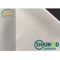 Quality High Stretch Woven Interlining 10D Light Weight Water Jet Loom for sale