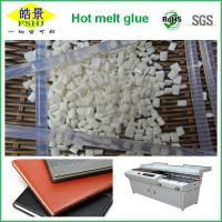 Buy cheap SGS , ROSH , FDA Certificated EVA Hot Melt Glue Adhesive With Milk Granule from wholesalers