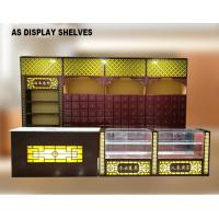 Buy cheap Chinese Style Pharmacy Display Shelves Medical Shop Racks With Light Box product