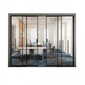 Buy cheap Modern Aluminum Single Track Narrow Sliding Glass Hanging Doors product