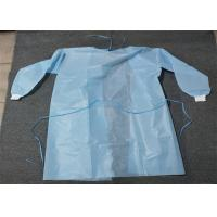 Buy cheap Knit Cuff Breathable Disposable Coverall Suit Gown Level 1/2/3 White Blue Yellow product