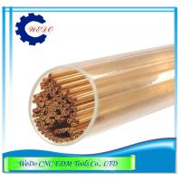 Buy cheap Dia 0.7mm Double Holes EDM Copper Eletrode Tube / Pipe For EDM Drill Machine product