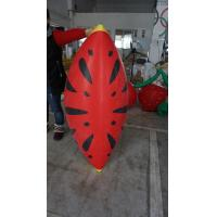 Buy cheap Personalised Fruit Shaped Balloons , 1.2m Long Inflatable Watermelon Slicer product