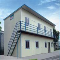 Buy cheap Low Cost /Mobile/Prefab/Prefabricated Steel House for Private Living prefabricated house product