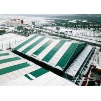 Buy cheap 40x70m Huge Green Color Sport Event Tents For Temporary Football Training product