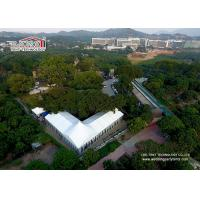 Buy cheap 25m Wide Customized Luxury Wedding Tents With High Peak / Outdoor Exhibition Tents product