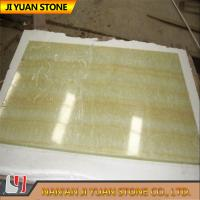 Buy cheap Golden Yellow Onyx Wall Tile Flooring Onyx Vanity Tops Commercial And Residential product