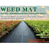 Buy cheap China Supplier Anti Weed Mat Weed Control Mat 100gsm PP Landscape Fabric Weed Barrier,Weed block mat keep damp and tempe product