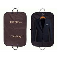 Buy cheap Non Woven Brown Oxford Suit Garment Bags Waterproof With Leather Handles product