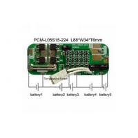 Buy cheap 18.5V Protect Circuit Module For 5 Cells Li-Ion Battery Pack product