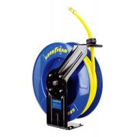Buy cheap Goodyear Steel Spring Driven Low Pressure air water retractable hose reel 20m hose product