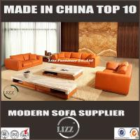 Italy Style Living Room Leather Sofa Set With Pure Leather LZ705