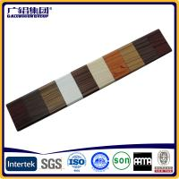 Quality wooden painting aluminum extrusion cheap price of aluminium sliding window for sale