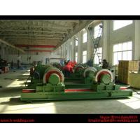 Buy cheap 5 Ton Bolt Adjustable Steel Tank Welding Pipe Roller Rotator , Cylinder  Turning Roll Machine product