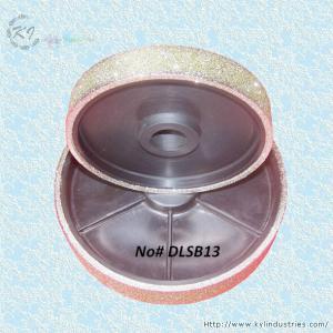 Buy cheap Lapidaryおよびガラス- DLSB13のためのダイヤモンドによって塗られる粉砕車輪 product
