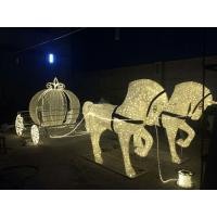 Christmas Decoration Horse Carriage
