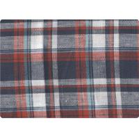"Buy cheap Professional Decorative Plaid Linen Upholstery Fabric 57"" / 58"" Width product"
