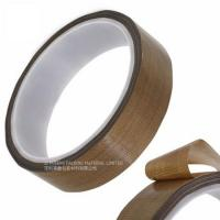 Buy cheap Masking Sealing PTFE Glass Cloth Tape 0.08MM Thickness High Temperature Resistant product