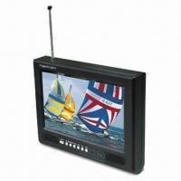 Quality Portable TV with 4.3-inch Portable LCD, Digital TV, and Stereo Earphones Jack for sale