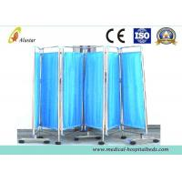 Buy cheap 6 Foldable Stainless Steel Hospital Privacy Screens, Medical Ward Screen (ALS-WS15) product
