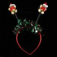 Buy cheap 13.6g Headband for Christmas Decoration, Lead- and Nickel-free, Various Designs are Available product