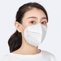 Buy cheap KN95 GB2626 Non Woven 4 Layer Disposable Face Mask With Earloop product