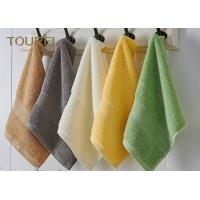 Buy cheap Embroidery Hotel Face Towel Bright Color 100% Cotton Face Flannels product