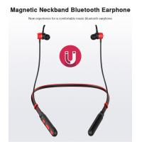 Buy cheap Bluetooth Earphone Headphone Sport Wireless Headphones IPX5 Waterproof Wireless Earphones Headset with mic for Phone product