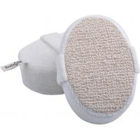 Buy cheap Dot Hemp Polyester Terry body scrubber for shower , Natural Pad For Skin Cleaning product