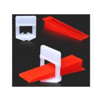 Buy cheap Durable Tile Leveling System Clips For Wall Floor Tile Spacer , Long Life product