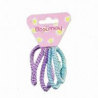 Buy cheap Children's Elastic Set in Various Colors and Styles, Suitable for Various Ages product