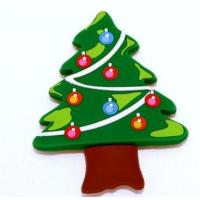 Buy cheap rubber Merry Christmas  tree magnet sign for fridge product