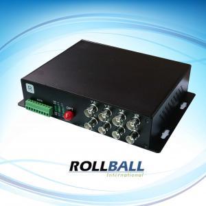 Buy cheap 8 multiplexeurs optiques visuels de fibre de Digital de la Manche avec l'audio haute-fidélité, support de 19inches 1U product