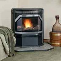 China 10KW modern pellet stove on sale