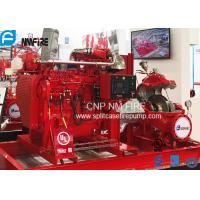 Buy cheap Industrial High Pressures Split Case Fire Pump Centrifugal 1000GPM / 175PSI product
