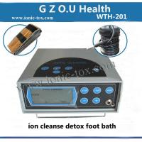 Buy cheap foot bath detox machine with far infrared belt good for your body from wholesalers
