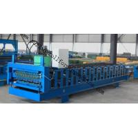 Buy cheap Full-Automatic Standing Seam / Floor Deck Cold Roll Forming Machine 0.4mm - 0.8mm product